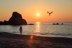 Inspire 2 (torchialuigi) Tags: drone aerial dji inspire 2 x5s 15mm polarpro nd8 cp sea rock mare alba spiaggia scoglio sunrise