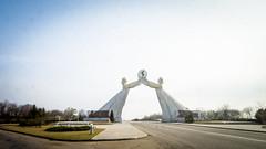 Arch of Reunification (Yen L.) Tags: northkorea korea koryo dprk asia communism 조선 조선민주주의인민공화국 朝鮮 北韓 韓 高麗