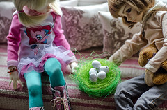 Easter ^_^ (Suliveyn) Tags: bjd doll msd dollinmind larina leekeworld leeke world benjamen