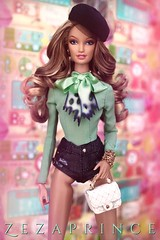 Moschino (️ Zezaprince ️) Tags: south beach location barbie doll moschino lara