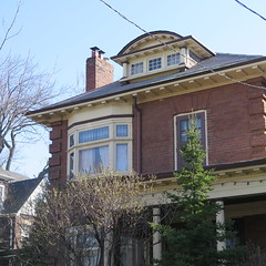 tower front (southofbloor) Tags: broadview tower house edwardian riverdale riverside