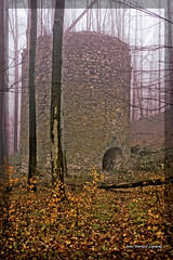 Tower in the fog (dariusz_lipinski) Tags: landscape tower fog stone forest europe poland lowersilesia