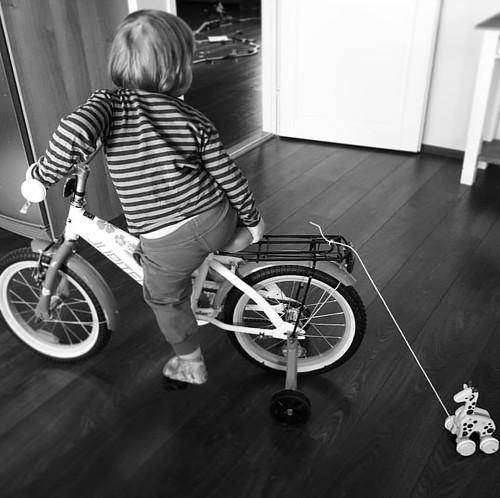 Pyöräilykausi avattu.