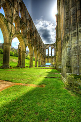 Rievaulx Abbey_10_Painterly (madktm) Tags: |rievaulx abbey rievaulx nr helmsley north yorkshire yo62 5lb canon hdr tonemapped lee filters nd grad