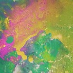 Watercolor in progress   #abstract #watercolor #psychedelic #abstractartist #summer thumbnail