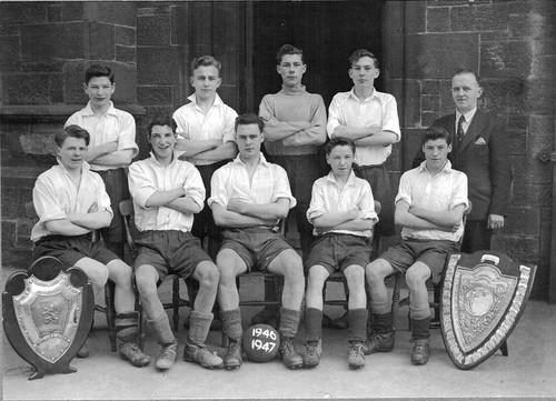 Bellahouston Football Team 1946-47