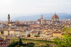 il gusto della Toscana 29 (m@t.d.) Tags: santa italy del river florence maria ponte tuscany duomo arno fiore vecchio piazzadelduomo