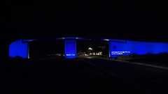 Henley Gate - Ungodly early hour (beltz6) Tags: physics ucsb nobelprize blueled bluelaser