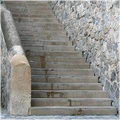 Treppe - Stair - Escalera P1040633-001 (maya.walti HK) Tags: espaa spain flickr stairway treppe escalera murcia spanien 161014 panasoniclumixfz200 copyrightbymayawaltihk fotosquerbeet querbeet2014