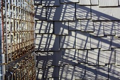 Shadows and Lines (Read2me) Tags: she lines wall shadows ge cages pree cye thechallengefactory tcfunanimous