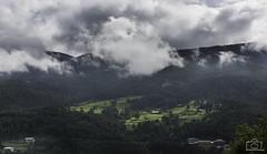 Bumthang Valley (Pradeepprakash) Tags: mountains clouds easter landscape bhutan buddhist buddhism august valley monsoon greenery forests himalayas 2014 bumthang btn jakar centralbhutan