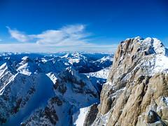 (chiara.poire) Tags: blue winter sky snow alps landscape blu neve inverno alpi trentino dolomites dolomiti marmolada puntarocca