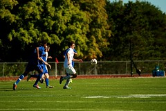 K_IM4132 (westminster.college) Tags: playing men net sports ball goal team athletics kick soccer mens jersey score titans 2014 menssoccer 2014menssoccer