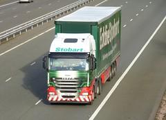 H2971 - PX12 AZC (Cammies Transport Photography) Tags: truck sophie lorry eddie flyover iveco esl m74 lockerbie stobart eddiestobart stralis h2971 px12azc