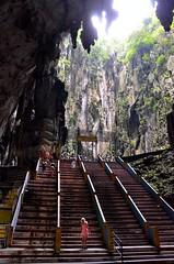 Sky Light (Pedestrian Photographer) Tags: light sky rock stairs temple steps n tourists nb stairway caves step malaysia cave kuala nm kl batu lumpur ribbet nicholle nmb dsc2468jpg dsc2468 dsc2468b