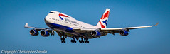 British Airways Beoing 747-400 (Doctor Christopher) Tags: boeing britishairways boeing747 boeing747400 chicagoohareinternationalairport