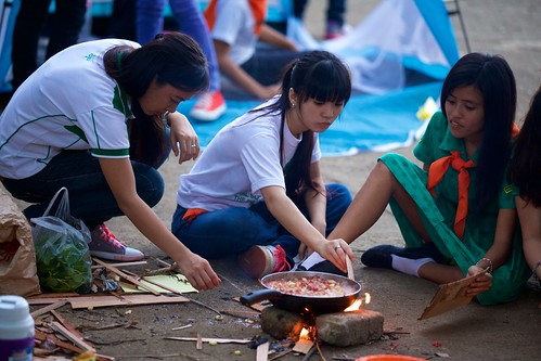 Scouting Activities 2014: Camp Fire Building & Outdoor Cooking