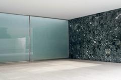 Mies (La T / Tiziana Nanni) Tags: barcelona travel architecture nikon miesvanderrohe architettura barcellona d300 lessismore iamyou tizianananni