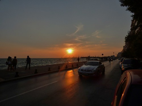 Thessaloniki in Greece - August 2014