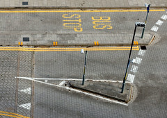 Bus Stop  (Explore 03/10/14) (only lines) Tags: road street uk kent busstop ramsgate thanet
