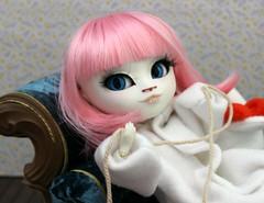 Lady Dorothy (GroovyBlue) Tags: cat doll pullip custom kigurumi ladydorothy misskittywhite requiemart