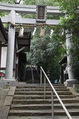 神社の石段