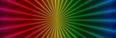 Rainbow Rays Panorama (Heaven`s Gate (John)) Tags: panorama color colour design rainbow vivid fractal rays multi ard 10faves 25faves johndalkin heavensgatejohn