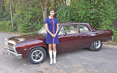 "1965 Chevelle Photo Shoot With Candace • <a style=""font-size:0.8em;"" href=""http://www.flickr.com/photos/85572005@N00/15320231888/"" target=""_blank"">View on Flickr</a>"
