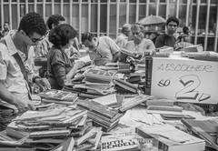 books (jayme stern) Tags: street people bw art rio de photography janeiro books carioca