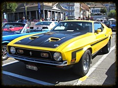 Ford Mustang Mach1 (v8dub) Tags: auto old classic ford car 1 automobile muscle automotive voiture pony american oldtimer mustang oldcar collector mach youngtimer wagen pkw klassik worldcars
