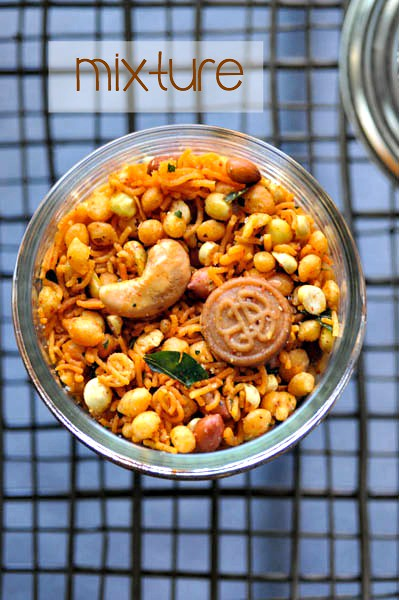 south indian mixture recipe, step by step - easy diwali snacks
