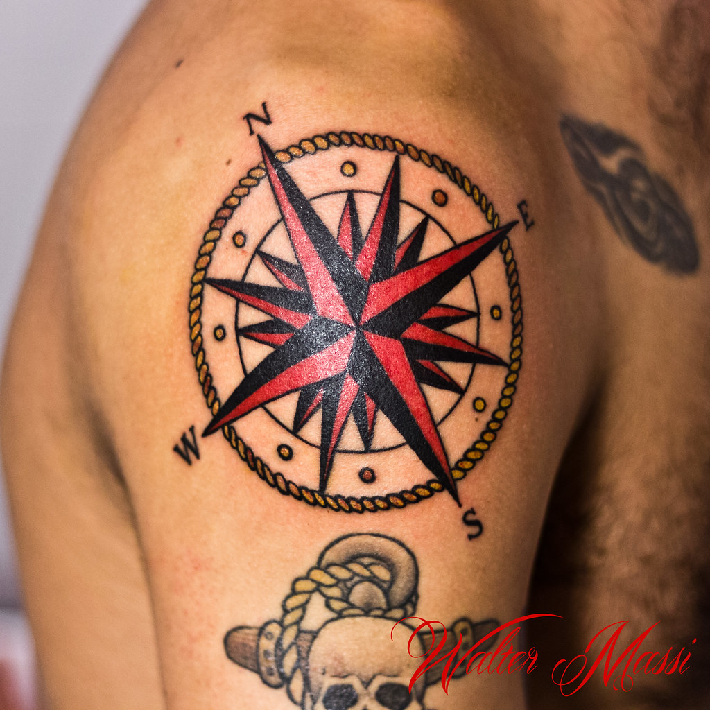 The world 39 s most recently posted photos of tatuare for Tatoo bussola