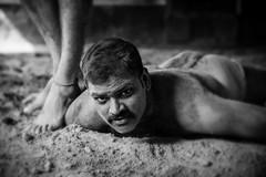 Kushti wrestler, Varanasi (Rafal Kubik) Tags: india varanasi wrestler kushti