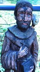 little poor man (LauraSorrells) Tags: saint statue catholic kentucky silence sacred statuary pilgrimage saintfrancis gethsemani