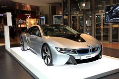 The car... (GeorgeKats) Tags: car indoors bmw luxurycar hamburgairport bmwi8