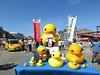 Suminoe Art Beat - Osaka (Ogiyoshisan) Tags: art yellow japan japanese 大阪 日本 osaka rubberduck suminoe danbo あひる アヒル florentijnhofman revoltech リボルテック 住之江 danboard ダンボー ラバーダック 巨鴨