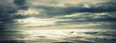 Looking at the northsea... (Henrik Bidstrup Jørgensen) Tags: sea sky beach water strand denmark seaside autum olympus hirtshals views dk danmark stranden havet northsee e510 vesterhavet havudsigt