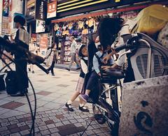 Peek-A-Boo (Rez_Designs) Tags: street japan children lumix tokyo asia child shibuya streetphotography olympus omd 2014 em1 14mm
