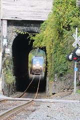 Bellows Falls, Vermont (UW1983) Tags: vermont trains amtrak tunnels railroads vermonter bellowsfalls passengertrains