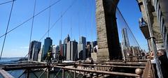 Workers in Brooklyn Bridge