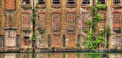 Bricked Up (brian.m.denton) Tags: england london urbandecay bricks docklands deserted flourmill royalvictoriadocks briandenton sonya850dslr timecapturer wwwtimecapturercom