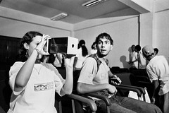 Oficina fotográfica do Reino da Garotada Poá-SP, BR. (Denis Vitor) Tags: nikonf3 poá garotada filmeilforddelta400