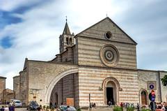 Basilica di Santa Chiara (Ilya Burlak) Tags: italy assisi basilicadisantachiara