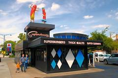 Superdawg (Cragin Spring) Tags: city urban usa chicago restaurant hotdog illinois midwest unitedstates fastfood chitown drivein il hotdogs superdawg chicagoillinois hotdogstand chicagoil windycity chicagohotdog norwoodpark