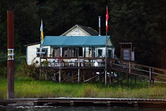 Summer getaway (Christie : Colour & Light Collection) Tags: summer canada river boats evening boat cabin nikon bc boating