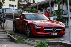 Mercedes SLS AMG (aguswiss1 - Thank you for 1'000'000 views) Tags: mercedes sls amg gullwing mercedesslsamggullwing
