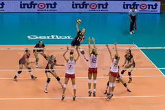 FIVB Volley Women's World Championship 2014 - Trieste (Italy) (thetoma88) Tags: world italy ball de this is championship team women italia belgium belgique champion belgi croatia volleyball croazia volley league trieste samanta belgien hrvatska belgio republika fabris nazionale pallavolo fivb nazionali mondiali royaume koninkrijk poljak palatrieste