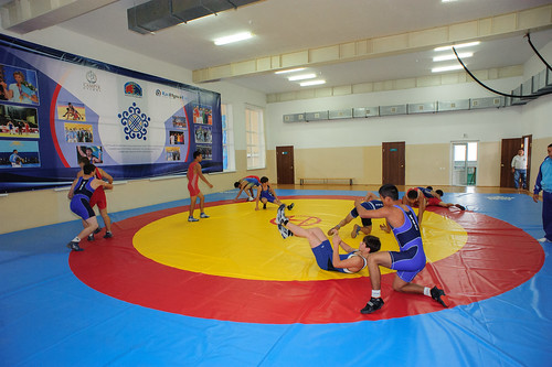 Открытие спортивной школы-интернат в Петропавловске