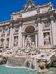 Trevi Fountain, Rome, Italy (Andy BealPhoto.com) Tags: travel vacation rome fountain lumix tour roman historic panasonic trevi gf6