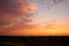 Sunset (noa.rotem) Tags: pink light orange sun beautiful clouds warm soft day colours earth end